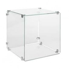 "Glass Cubic Display - 10""Lx10""Wx10""H-"